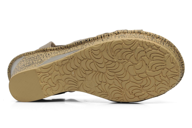 Sandales et nu-pieds I Love Shoes Suzanne Beige vue haut