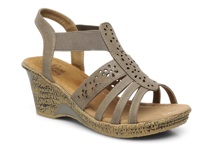 Sandales et nu-pieds I Love Shoes Suzanne Beige vue détail/paire
