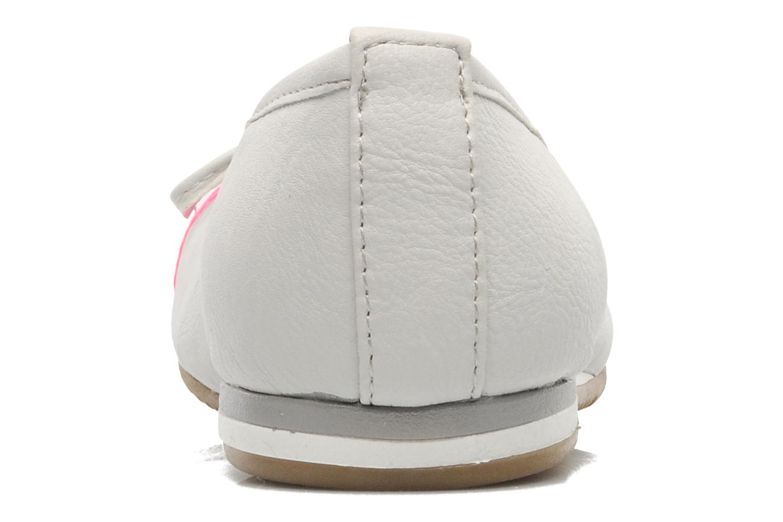 Bailarinas I Love Shoes Sue Ellen Blanco vista lateral derecha