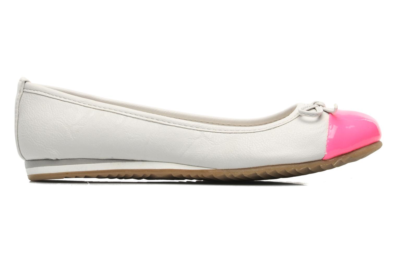 Ballerines I Love Shoes Sue Ellen Blanc vue derrière