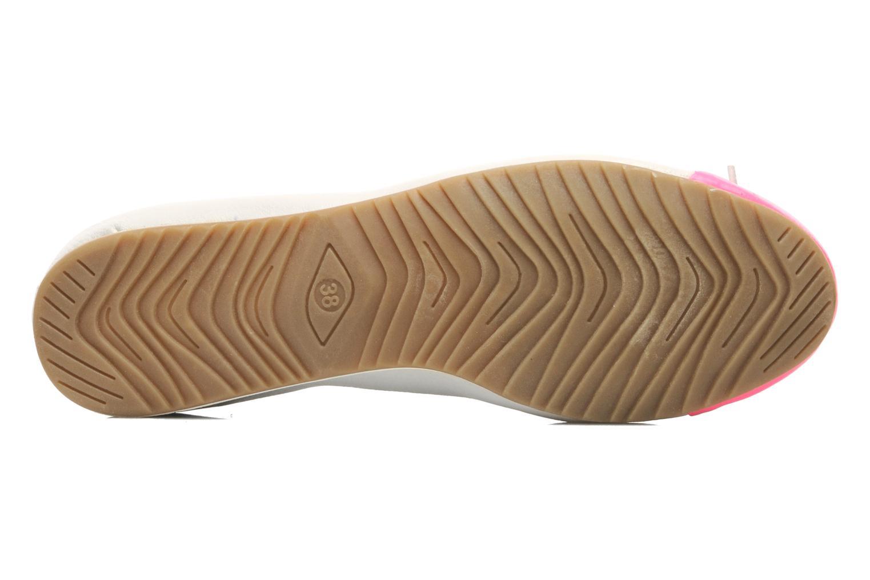 Ballerines I Love Shoes Sue Ellen Blanc vue haut