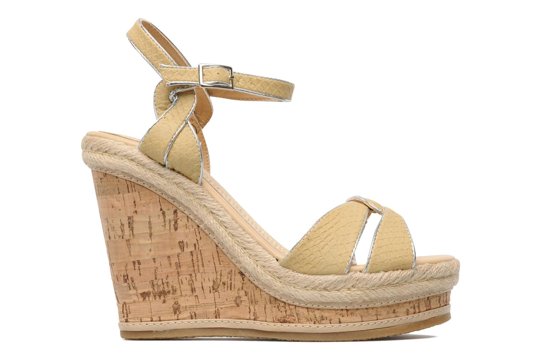 Sandals Latinas Cloti Beige back view