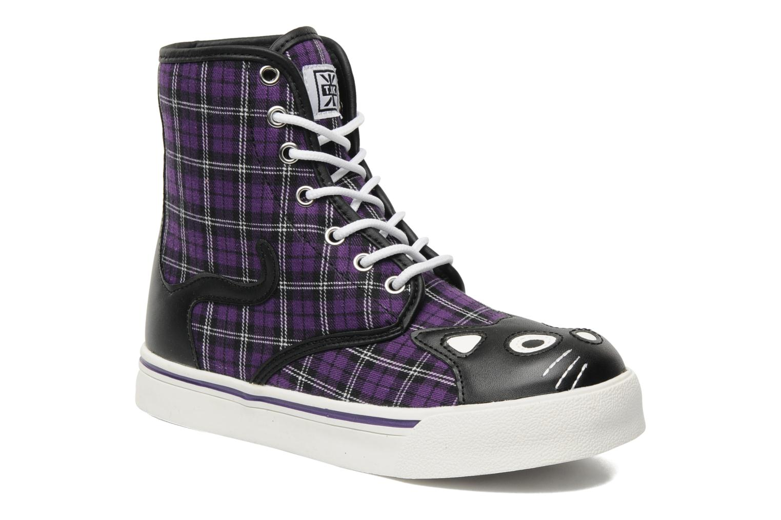 Baskets T.U.K. HI KITTY PURPLE Violet vue détail/paire