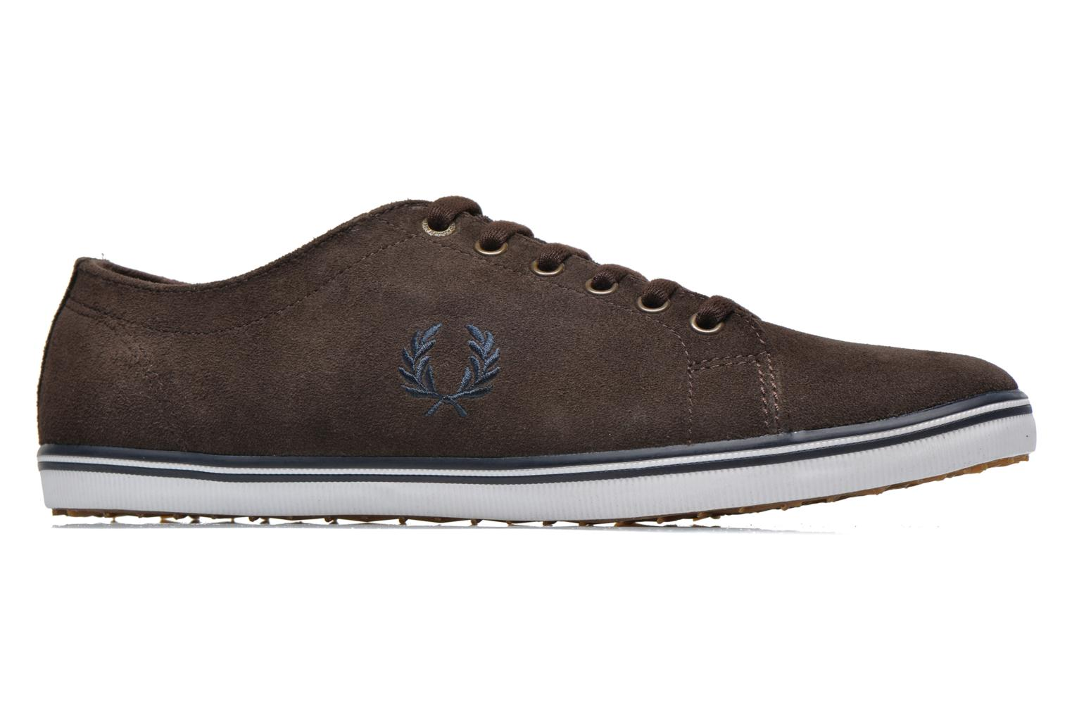 Baskets Fred Perry KingstoneSuede Marron vue derrière