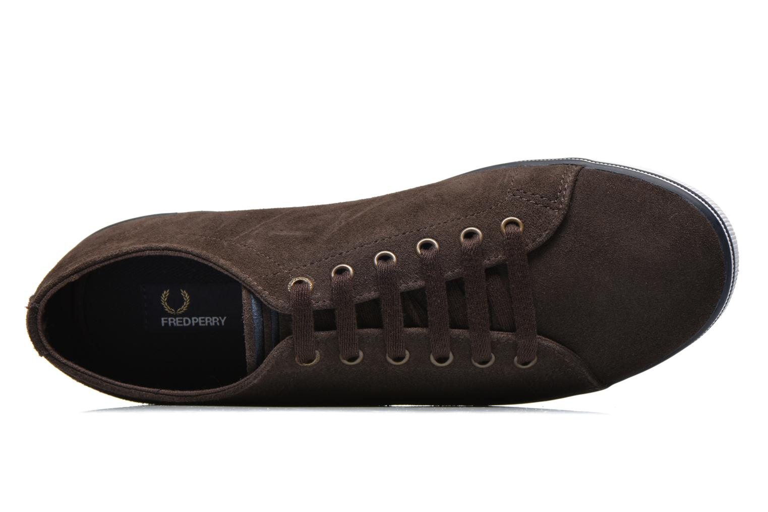 Baskets Fred Perry KingstoneSuede Marron vue gauche