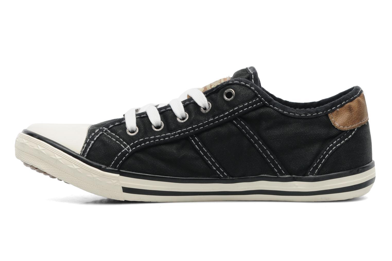 Baskets Mustang shoes Flaki Noir vue face