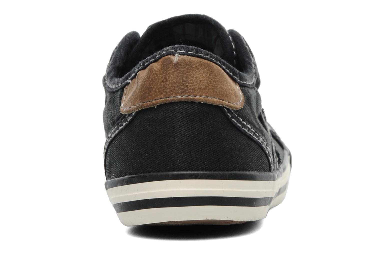 Baskets Mustang shoes Flaki Noir vue droite