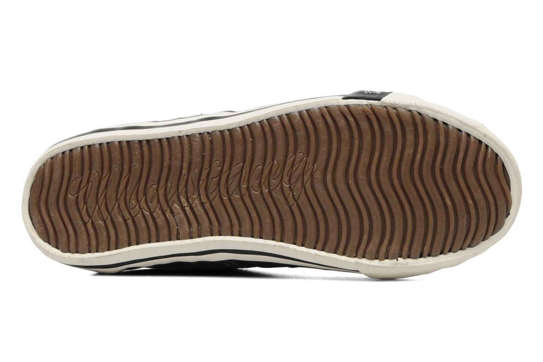 Baskets Mustang shoes Flaki Noir vue haut