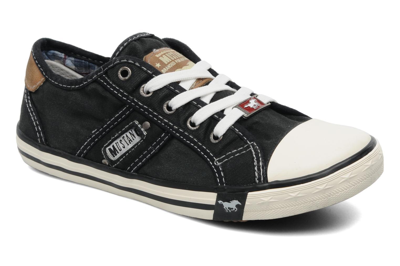 Baskets Mustang shoes Flaki Noir vue détail/paire