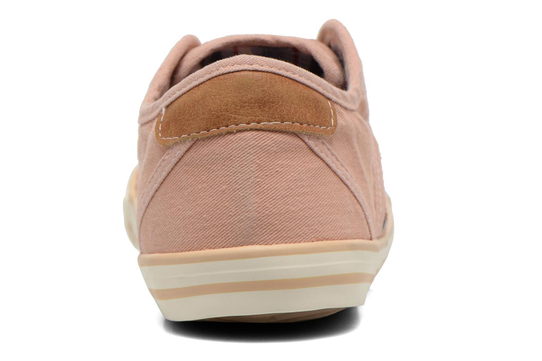 Baskets Mustang shoes Flaki Rose vue droite