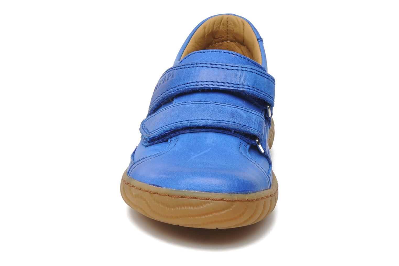 Trainers Pom d Api Woody Bi Velcro Blue model view