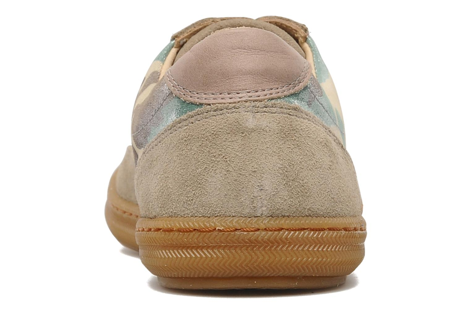 Trainers Pom d Api School Tennis Multicolor view from the right