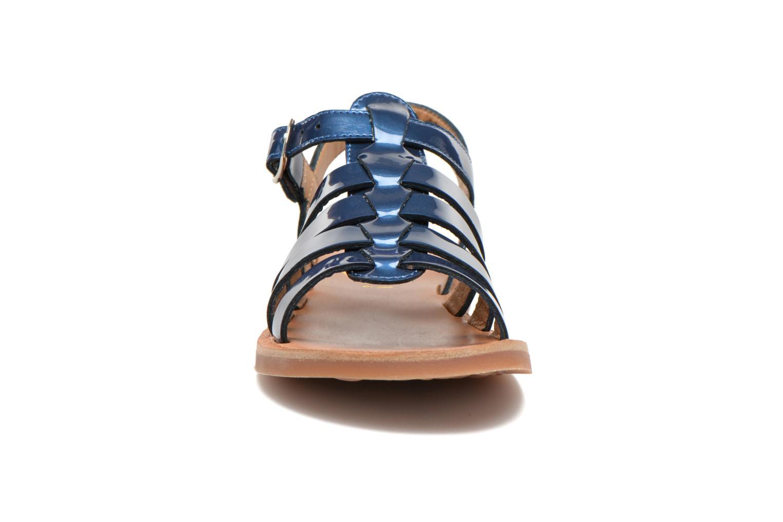 Sandalias Pom d Api Plagette Strap Azul vista del modelo