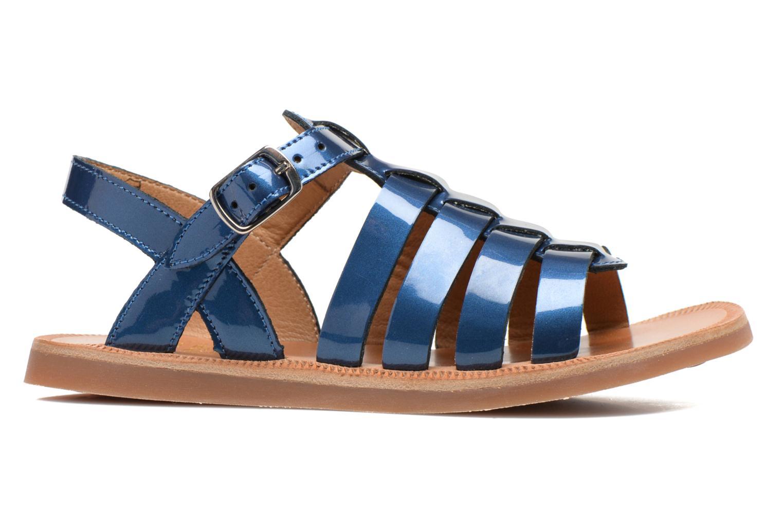 Sandalen Pom d Api Plagette Strap blau ansicht von hinten