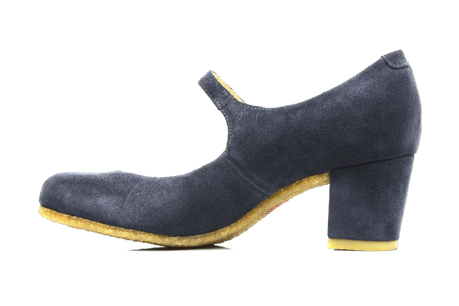 High heels Clarks Originals Cary Jane Blue front view
