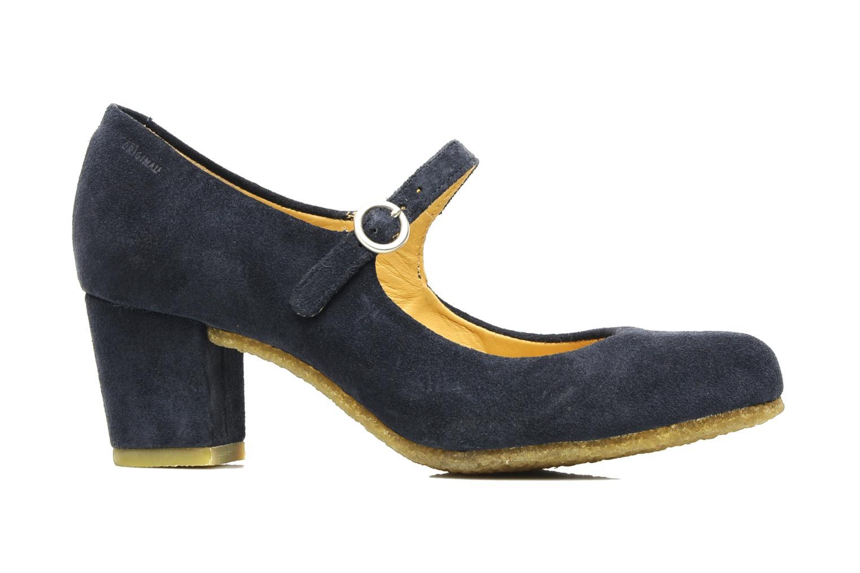 High heels Clarks Originals Cary Jane Blue back view