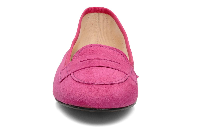 Mocassins Valensi Vaness Rose vue portées chaussures