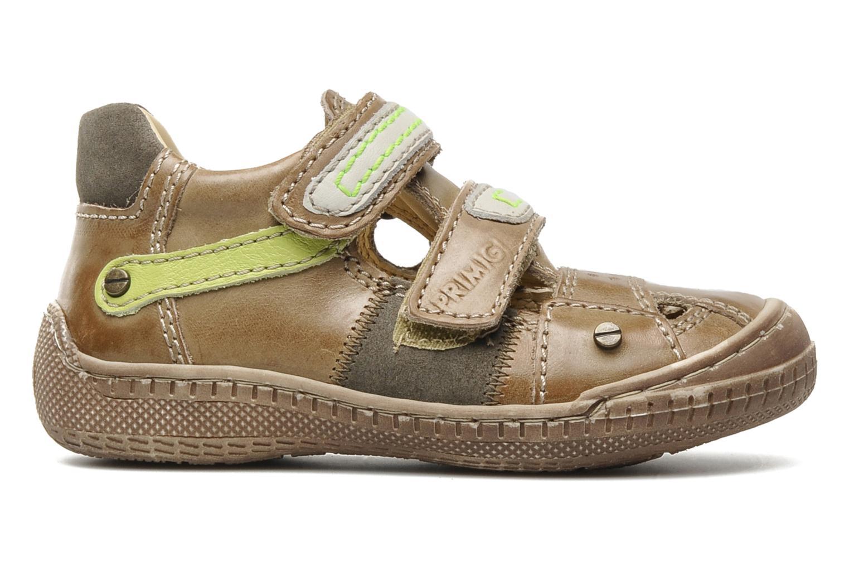 Chaussures à scratch Primigi Osbert-E Marron vue derrière