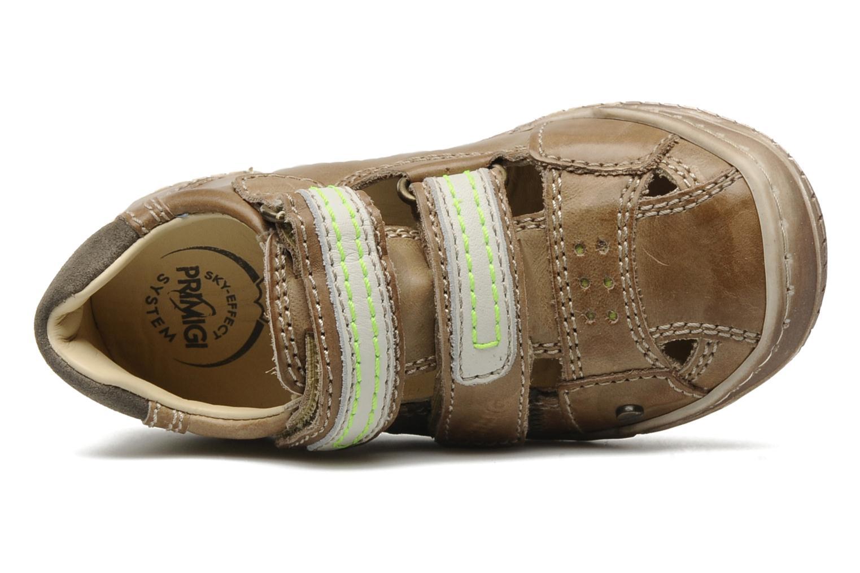 Chaussures à scratch Primigi Osbert-E Marron vue gauche
