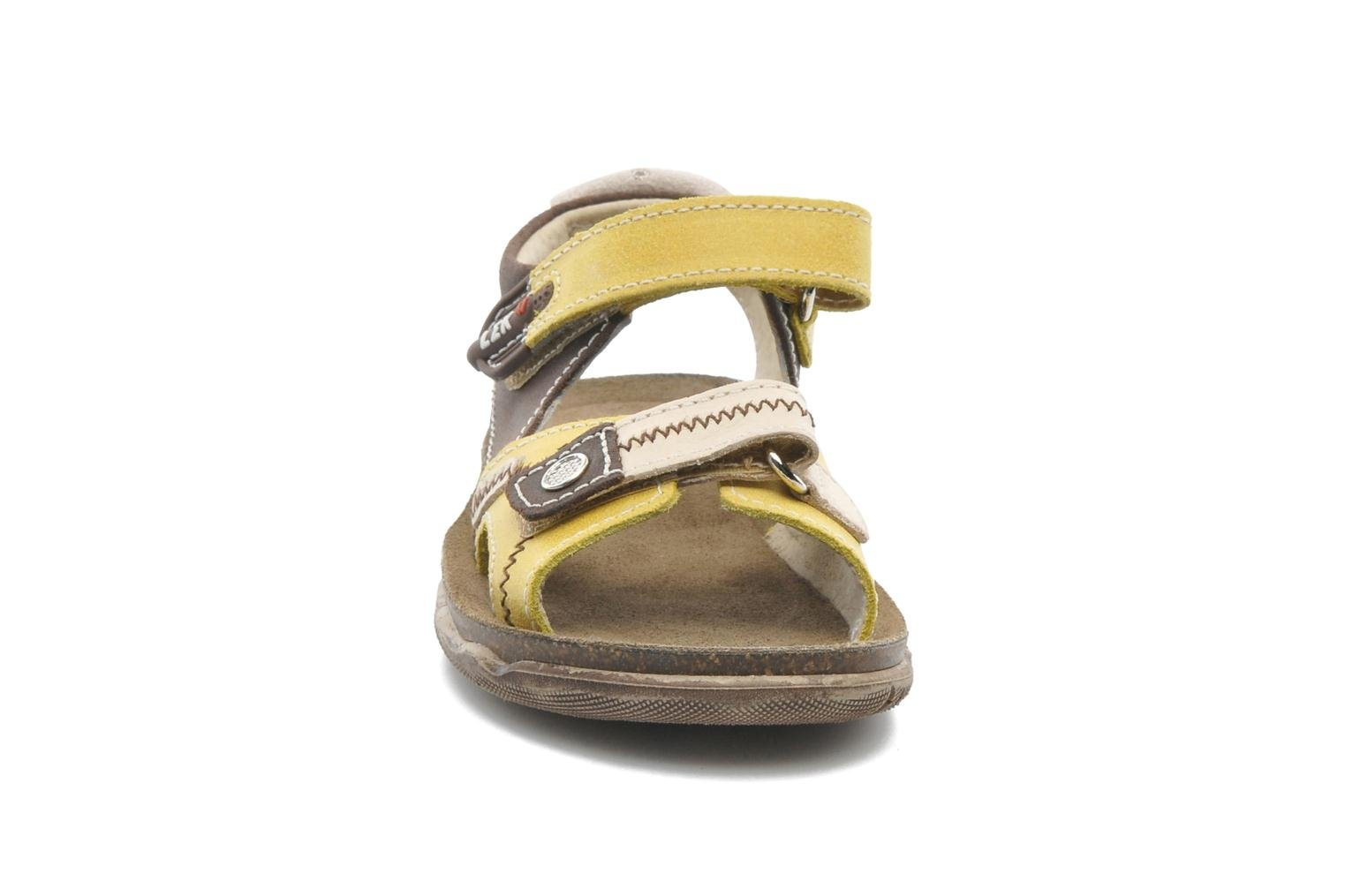 Sandals Little Mary Moca Brown model view