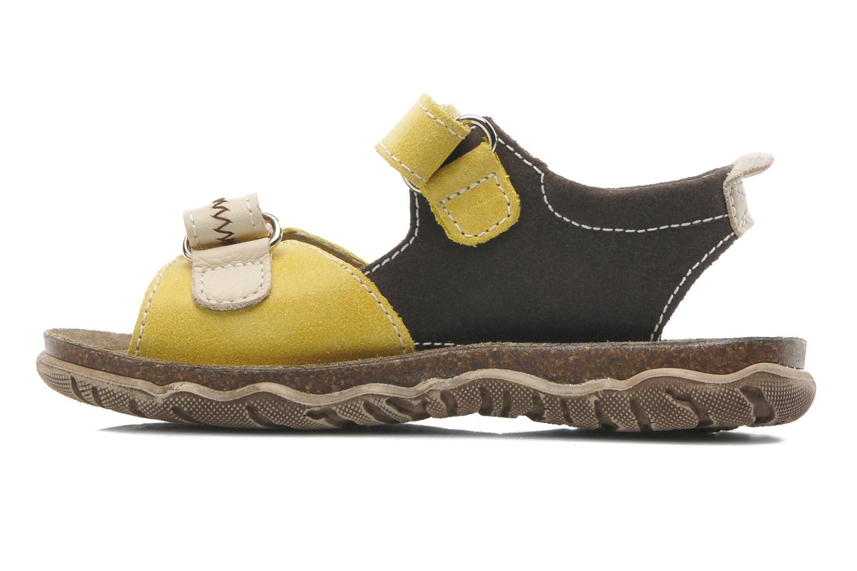 Sandales et nu-pieds Little Mary Moca Marron vue face
