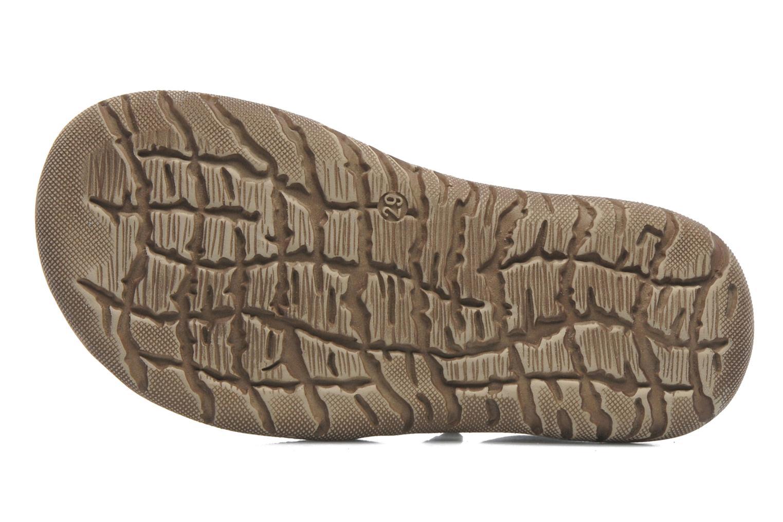 Sandales et nu-pieds Little Mary Moca Marron vue haut