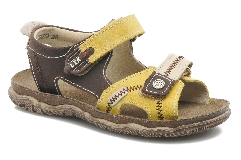 Sandales et nu-pieds Little Mary Moca Marron vue détail/paire