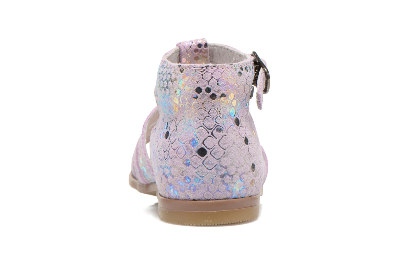 Sandales et nu-pieds Little Mary Hosmose Rose vue droite