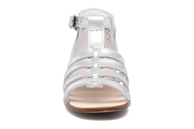 Sandales et nu-pieds Little Mary Hosmose Argent vue portées chaussures