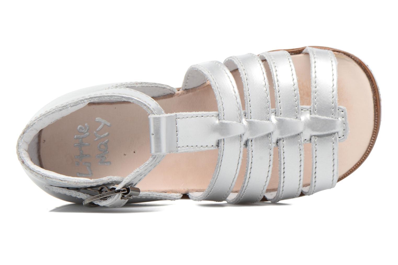 Sandales et nu-pieds Little Mary Hosmose Argent vue gauche