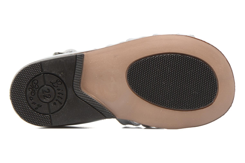 Sandales et nu-pieds Little Mary Hosmose Argent vue haut