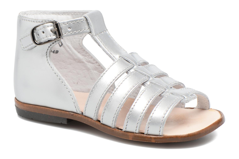 Sandales et nu-pieds Little Mary Hosmose Argent vue détail/paire