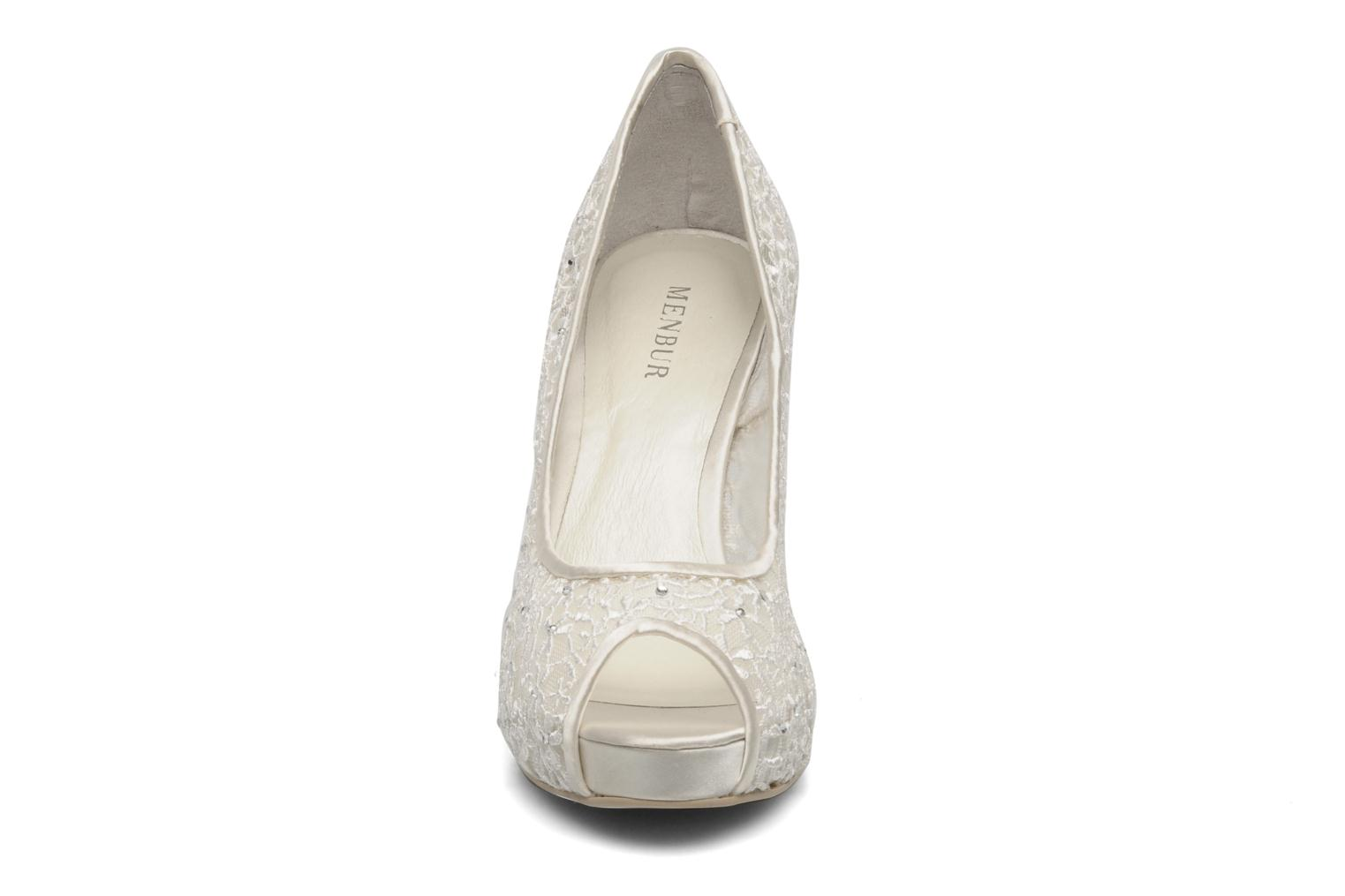High heels Menbur Halti White model view