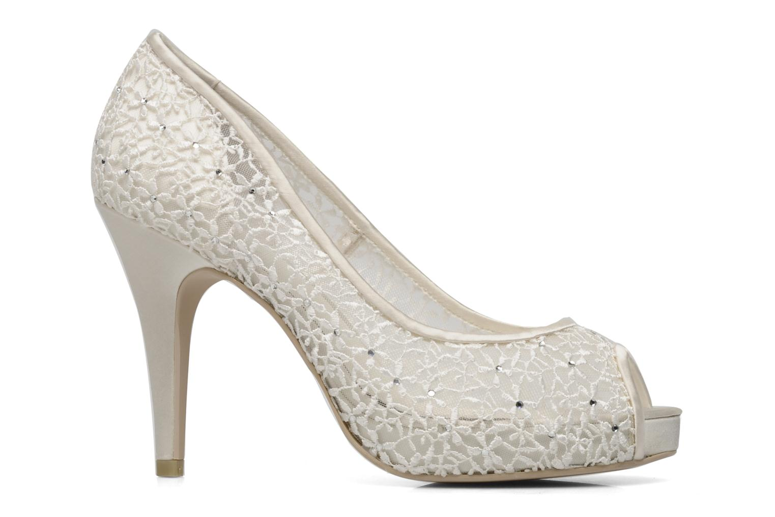 High heels Menbur Halti White back view