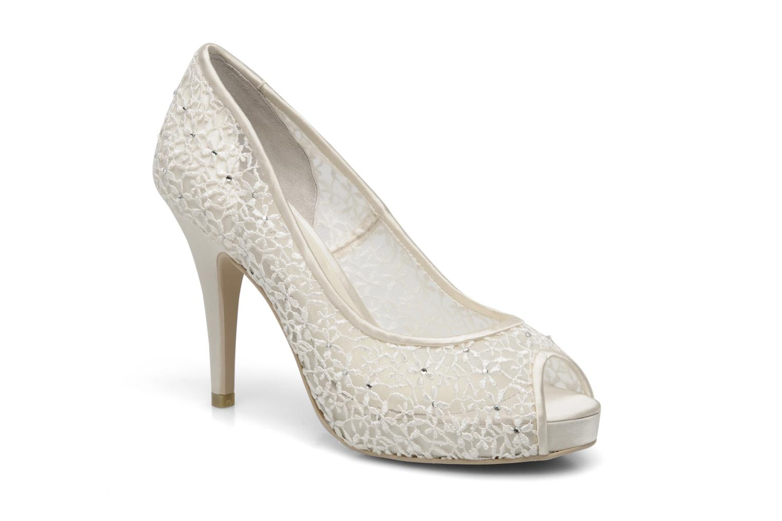 High heels Menbur Halti White detailed view/ Pair view