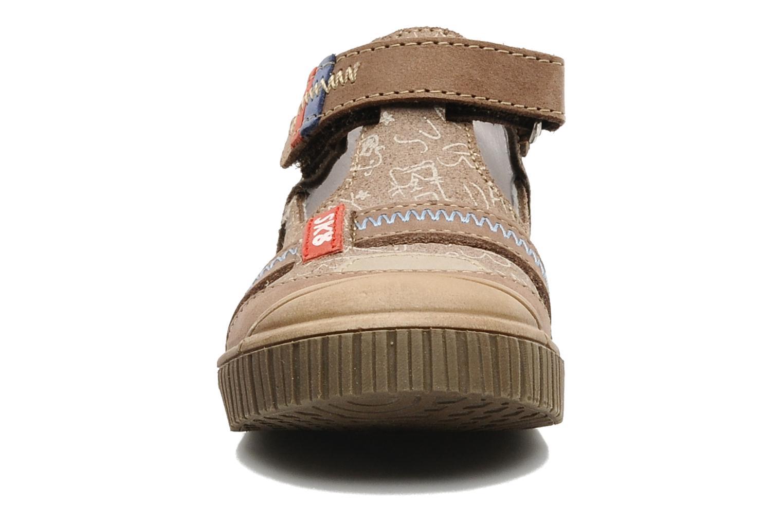 Summer boots Bopy Bataclan Brown model view