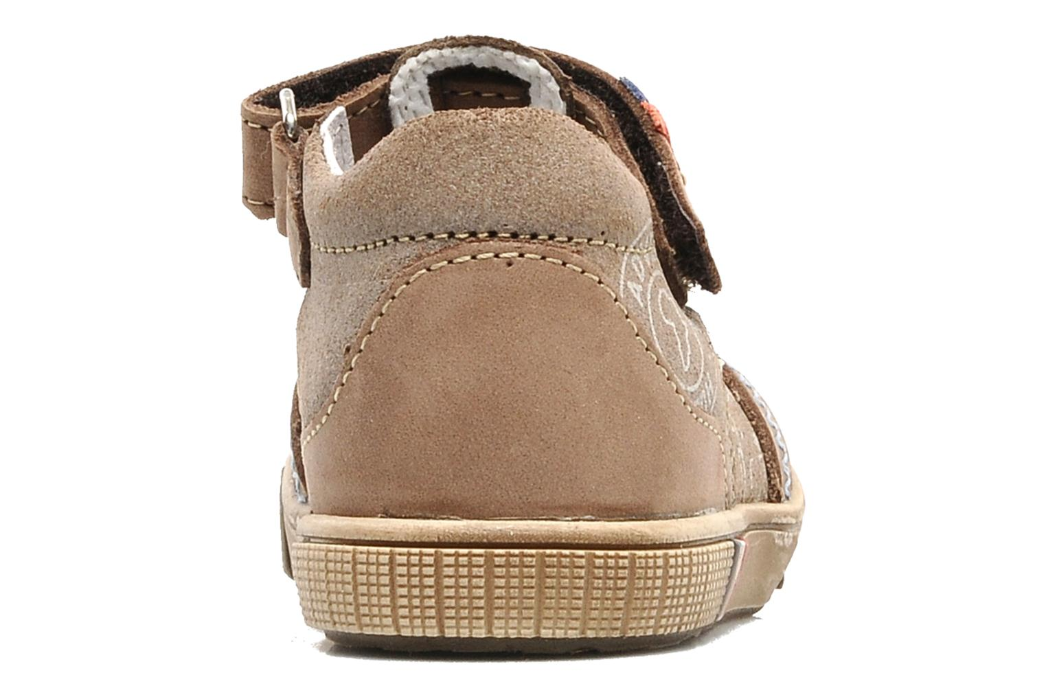 Summer boots Bopy Bataclan Brown view from the right