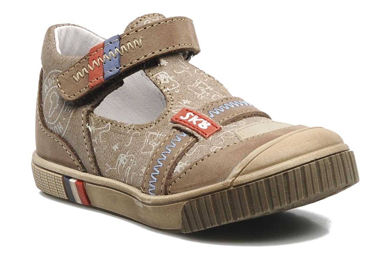 Summer boots Bopy Bataclan Brown detailed view/ Pair view