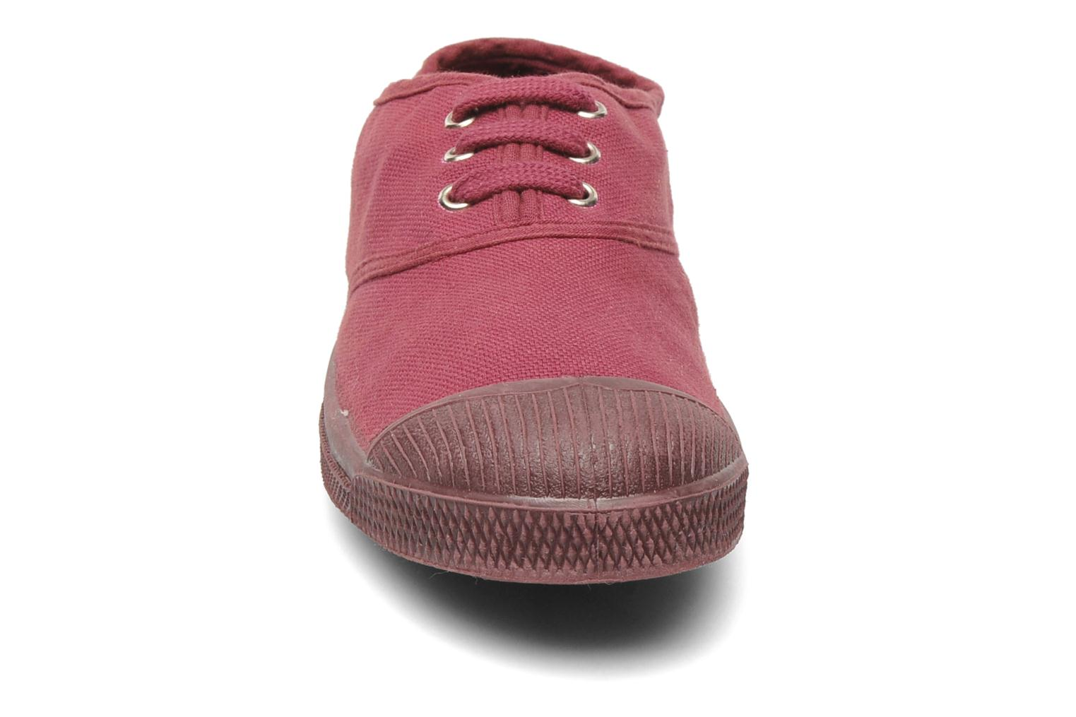 Trainers Bensimon Tennis Colorsole E Pink model view