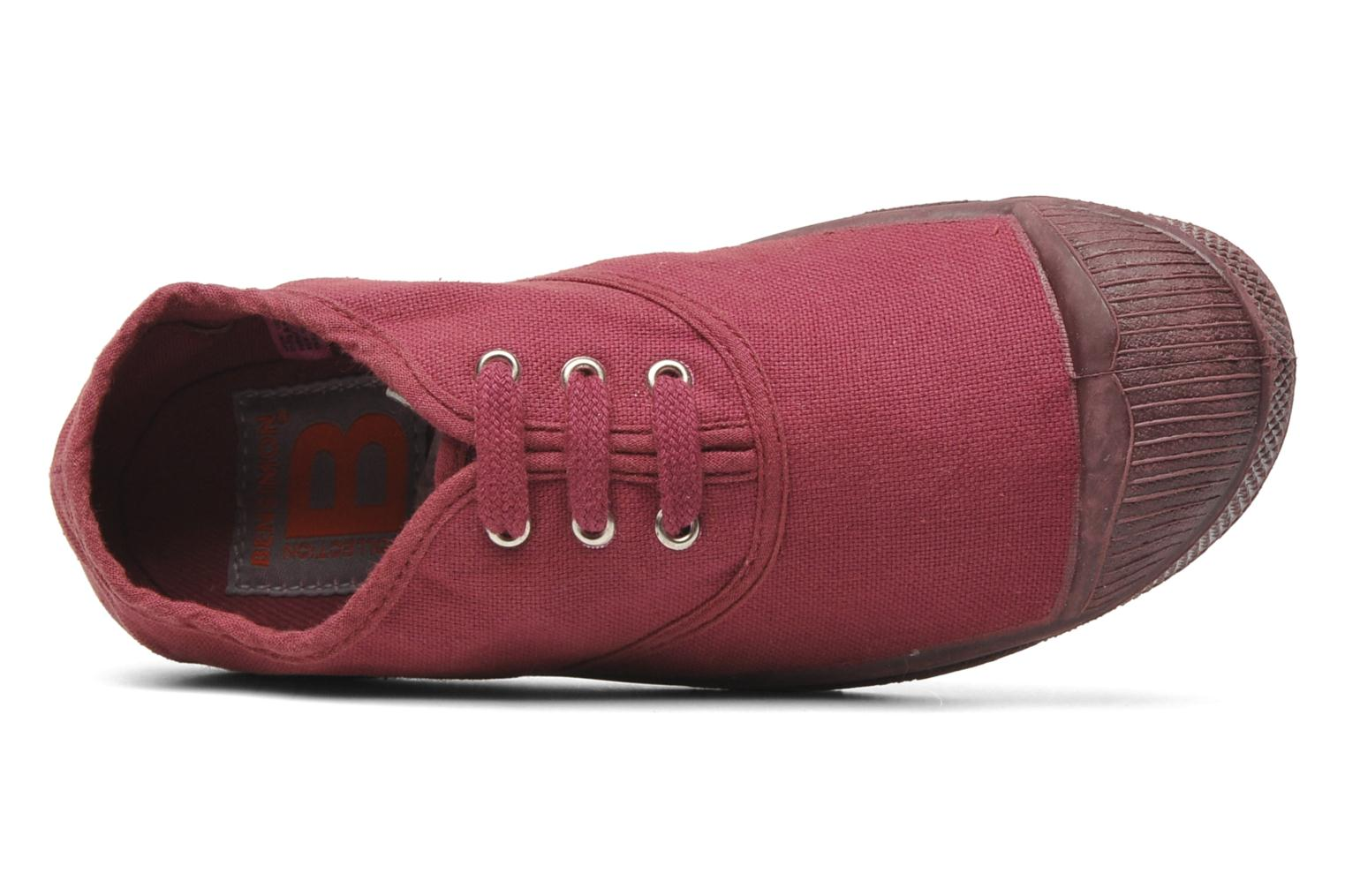 Trainers Bensimon Tennis Colorsole E Pink view from the left