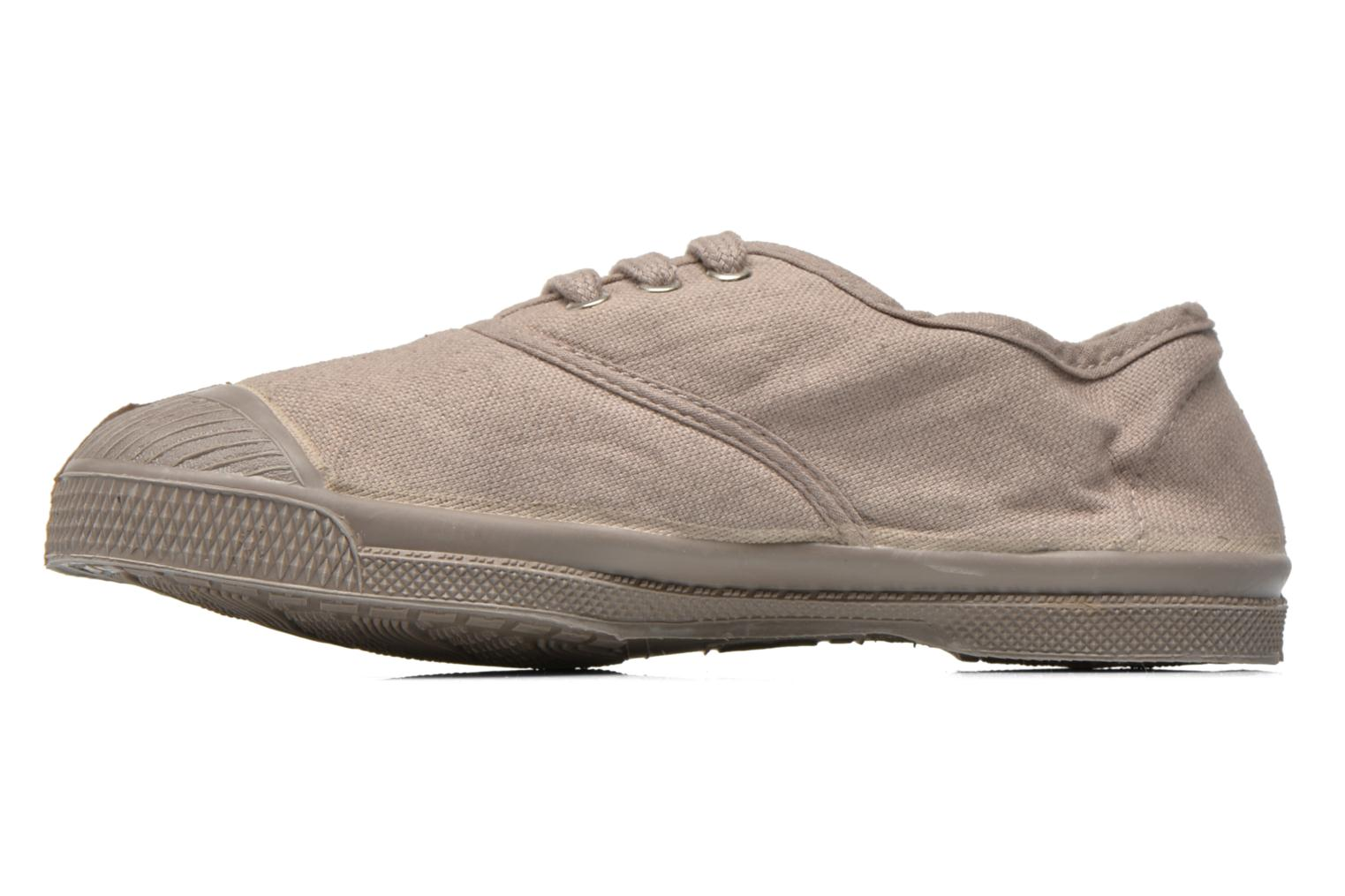 Baskets Bensimon Tennis Colorsole E Gris vue face