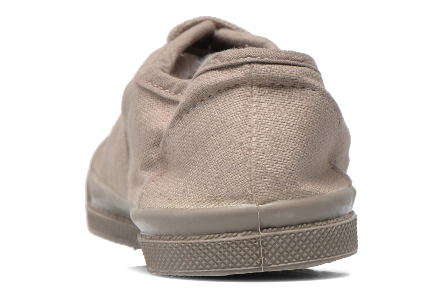 Trainers Bensimon Tennis Colorsole E Grey view from the right