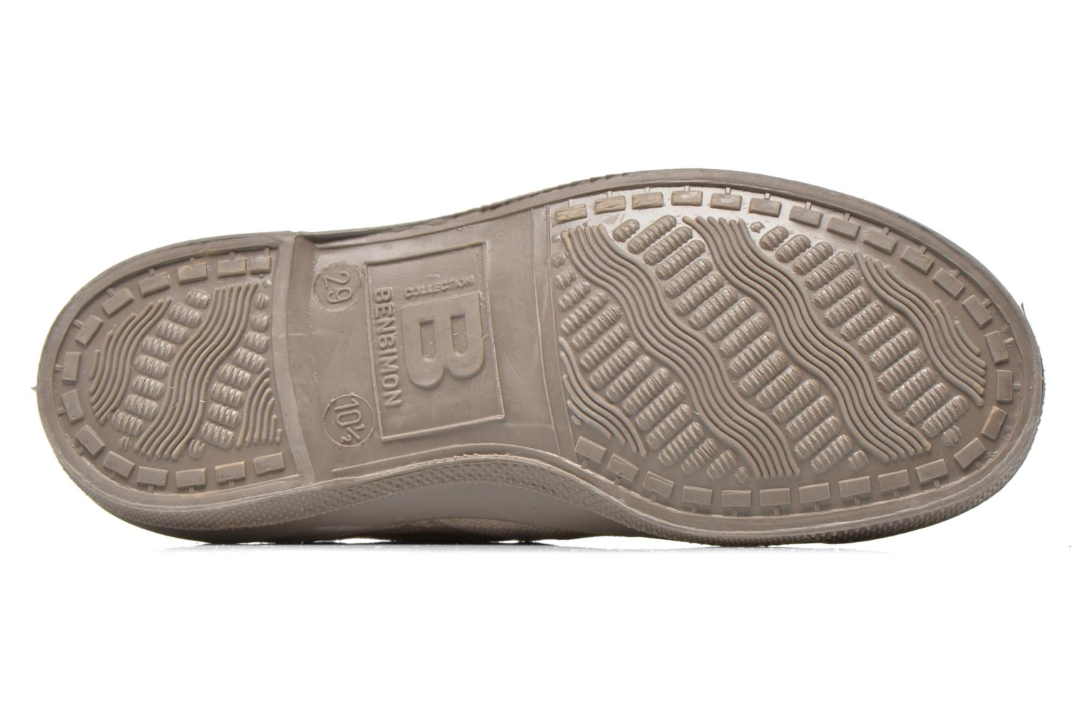Baskets Bensimon Tennis Colorsole E Gris vue haut