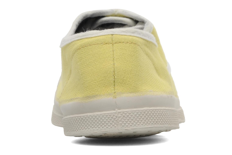 Sneakers Bensimon Tennis Colorpiping E Gul Bild från höger sidan