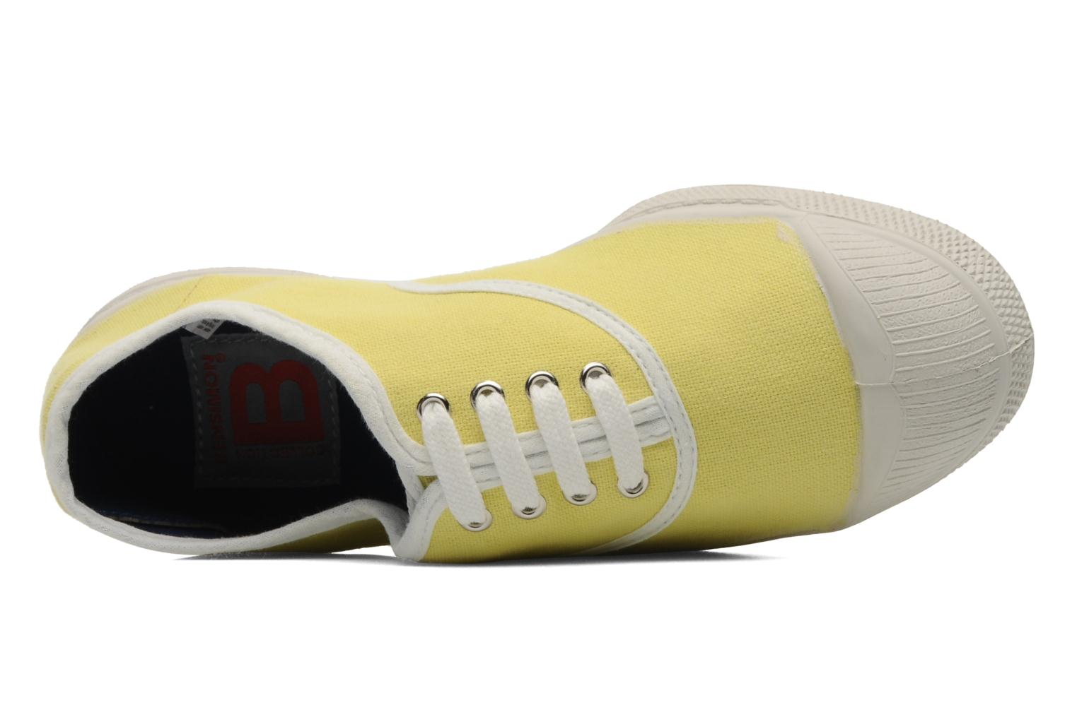 Sneaker Bensimon Tennis Colorpiping E gelb ansicht von links