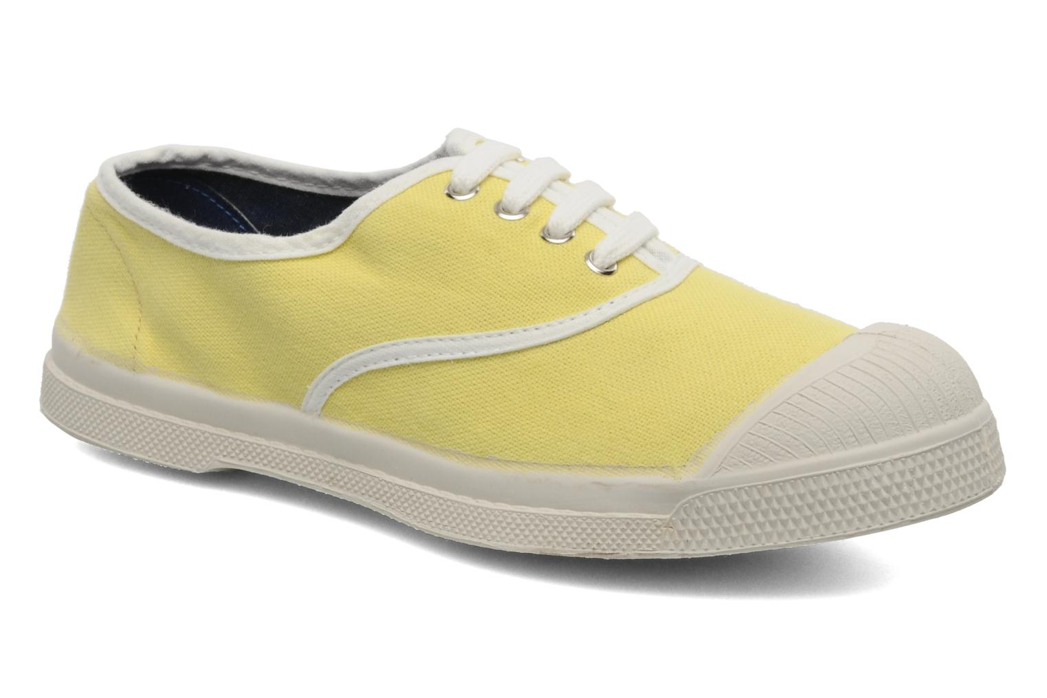 Sneakers Bensimon Tennis Colorpiping E Geel detail