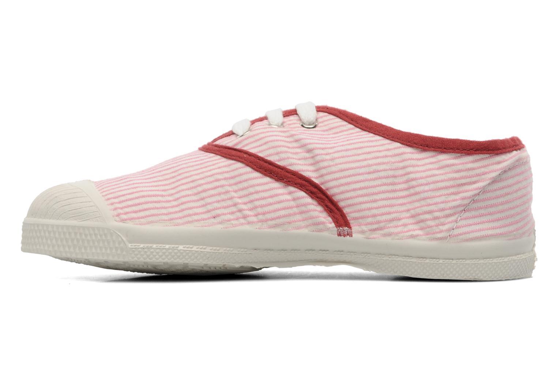 Sneakers Bensimon Tennis Rayures Souples E Roze voorkant