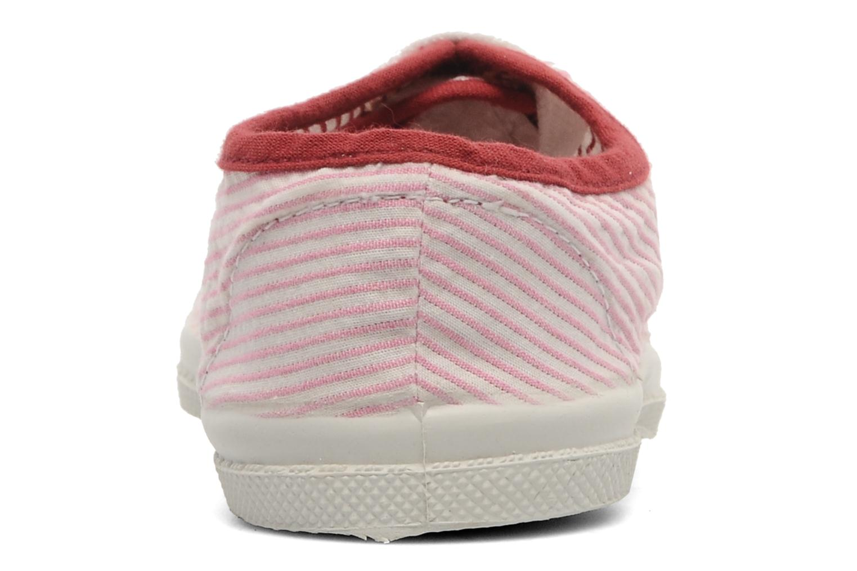 Sneakers Bensimon Tennis Rayures Souples E Roze rechts