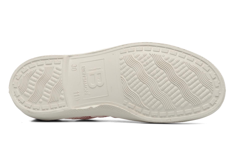Sneakers Bensimon Tennis Rayures Souples E Roze boven