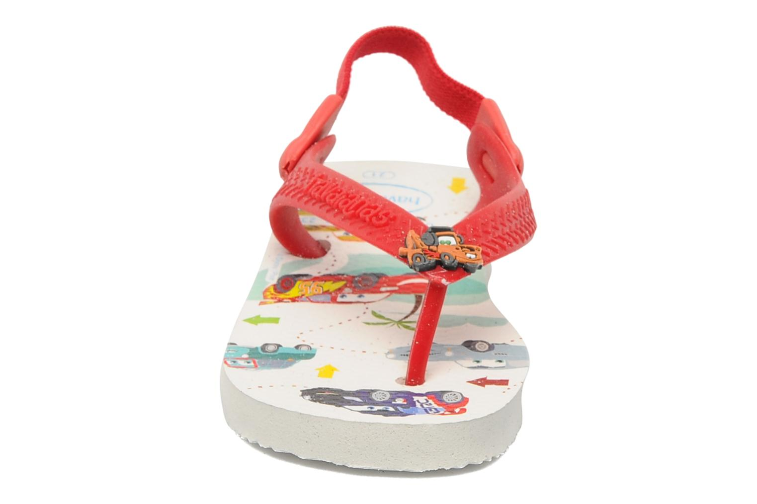Slippers Havaianas Baby Cars Rood model